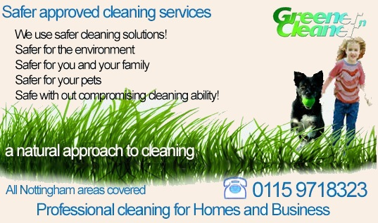 eco friendly carpet cleaning in Nottingham