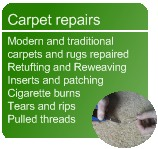 carpet repairs in Nottinghamshire