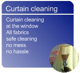 curtain cleaning in Nottingham and Nottinghamshire