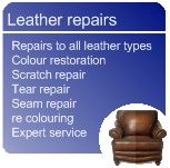 Leather repairs in Nottinghamshire